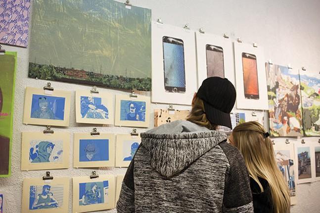 The Mini-Market at PULLPROOF Studio in April