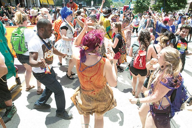 Pittsburgh PrideFest, June 9-10 - CP PHOTO BY JOHN COLOMBO