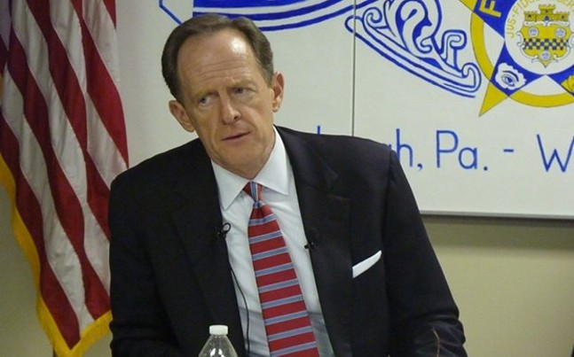 Pat Toomey - CP PHOTO BY RYAN DETO