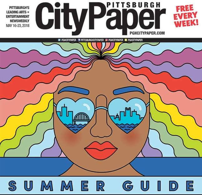 Ashley Olinger's Summer Guide cover illustration