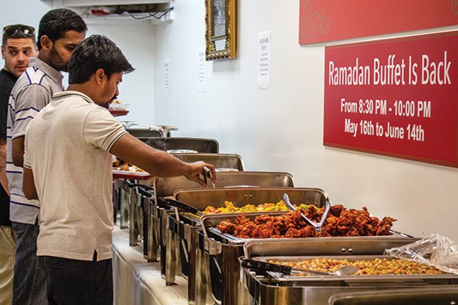 The Ramadan buffet at Salem's Market and Grill - CP PHOTO BY ANNIE BREWER