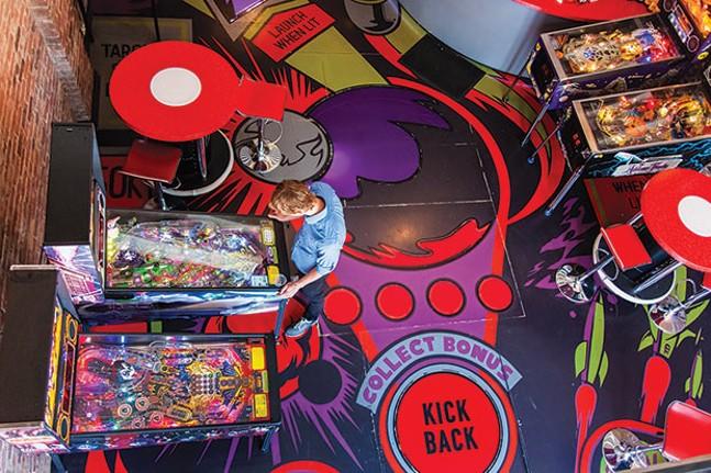 Kickback Pinball Cafe - CP PHOTO BY VANESSA SONG