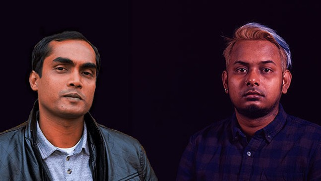 Tuhin Das and Ali Asgar - COURTESY OF AYNE TERCEIRA
