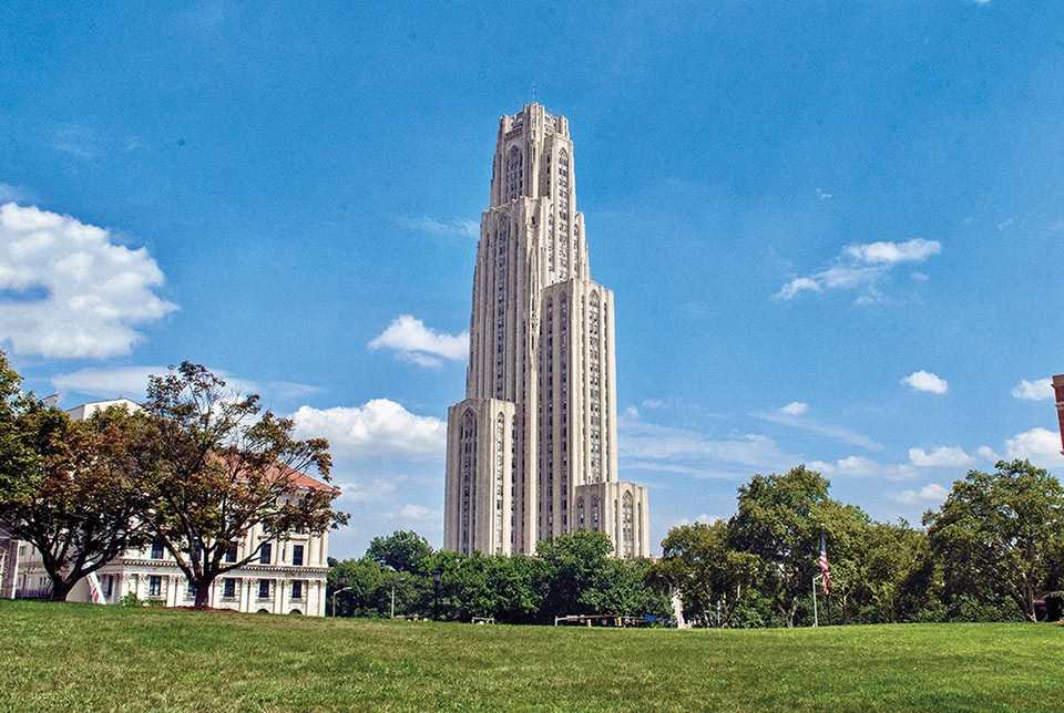 Cathedral of Learning - CP PHOTO BY JAKE MYSLIWCZYK