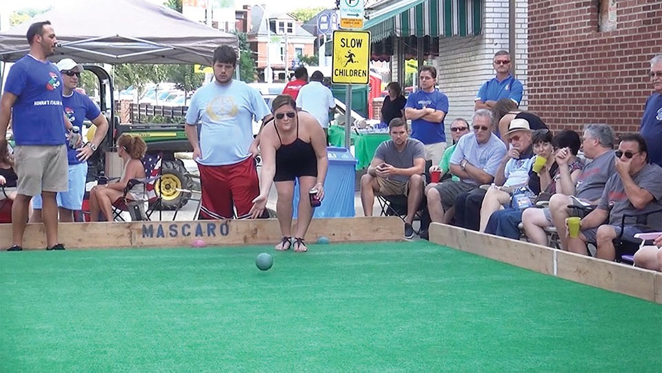 Bocce during Little Italy Days in Bloomfield - CP PHOTO BY ASHLEY MURRAY