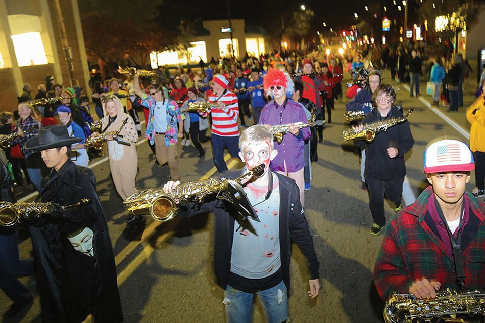 Bloomfield Halloween Parade - CP PHOTO BY THEO SCHWARZ