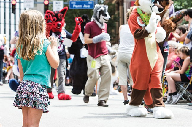 Anthrocon's annual Fursuit Parade - CP FILE PHOTO