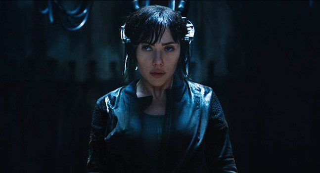 Scarlett Johansson in Ghost in the Shell, another Rupert Sanders film with controversial casting - PHOTO COURTESY OF PARAMOUNT PICTURES