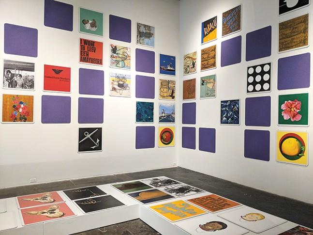 Bibiana Suárez's Memoria at SPACE Gallery - CP PHOTO BY LISA CUNNINGHAM
