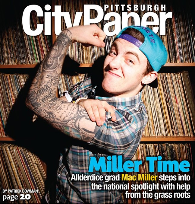 Mac Miller: cover boy (2011). - CITY PAPER FILES
