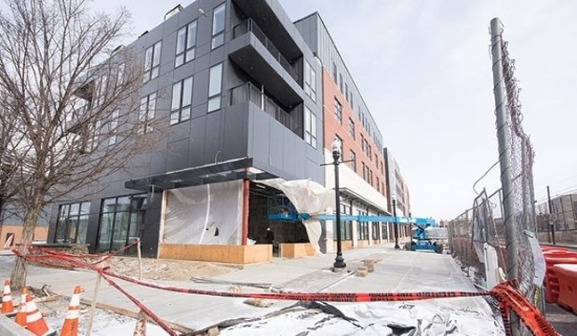 Arsenal 201 high-end apartment complex in Lawrenceville - CP PHOTO BY JAKE MYSLIWCZYK