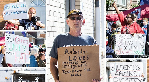 As Donald Trump prepares to be sworn in as the 45th president, Ambridge isn't waiting around for his help.