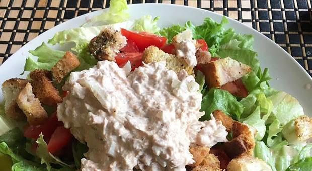 The Best Tuna Salad (on a Salad)