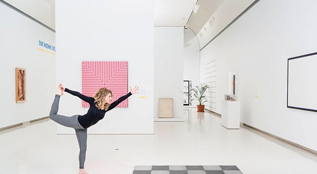 Art and artifacts are the backdrop for the Carnegie Museum of Art's new weekly yoga classes