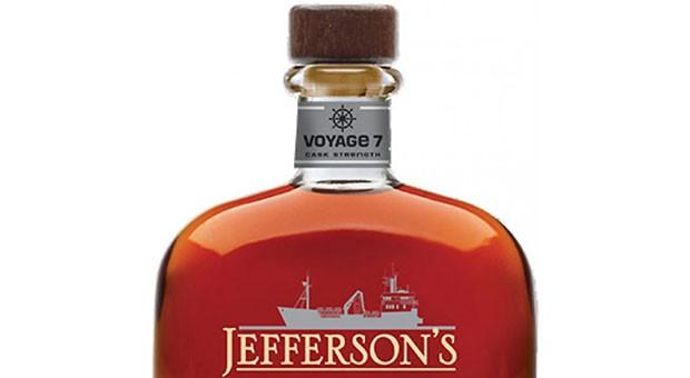 Jefferson's Ocean, Aged at Sea, Cask Strength Bourbon