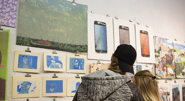 PULLPROOF studio aims to provide printmaking tools to the Pittsburgh arts community