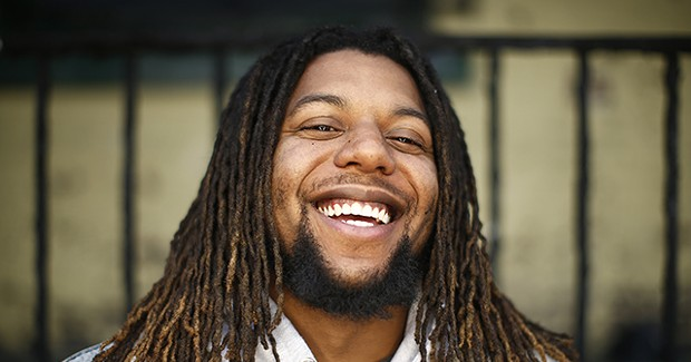 Local hip-hop artist reminds listeners to <i>Smile, You're Alive!</i>