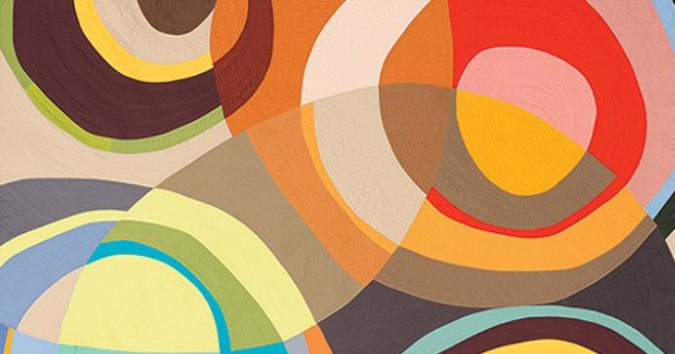 The Westmoreland Museum hits the target with Circular Abstractions: Bull's Eye Quilts