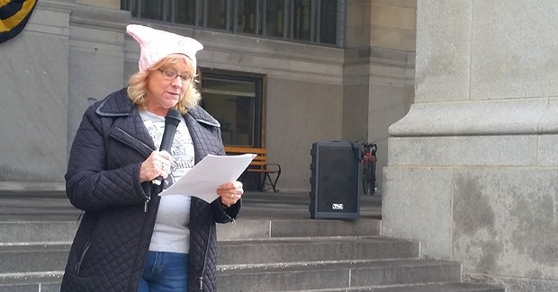 Members of Pittsburgh legal community call for resistance against Trump administration