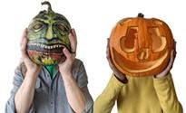 Decorating Halloween pumpkins for under $25