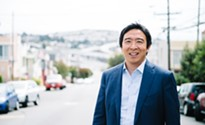 Presidential hopeful Andrew Yang wants to give voters $1,000 a month and save our jobs from robots