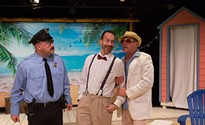 Kinetic Theatre's <i>Scapino</i> is an intense, comedic trip into the world of modern crime