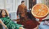 Scott Hunter's paintings keep score on love