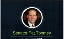 Pennsylvania  Republican Sen. Pat Toomey holds telephone town hall