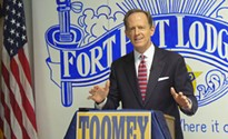 President Trump's budget proposal would make Sen. Toomey's sanctuary-city bill ineffective