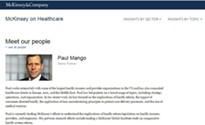 Gubernatorial candidate Paul Mango led an effort on health-care reform, but is silent on GOP health-care plan