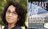 A review of Geeta Kothari's debut story collection, <i>I Brake For Moose</i>