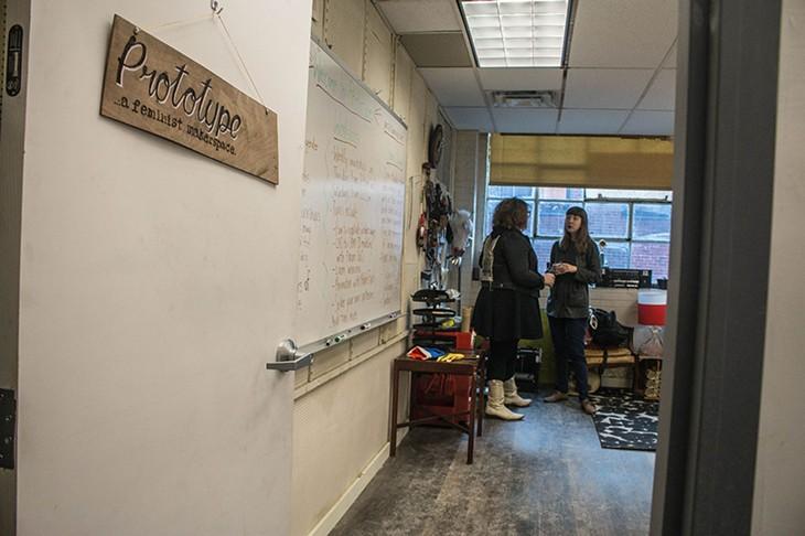 Prototype feminist makespace
