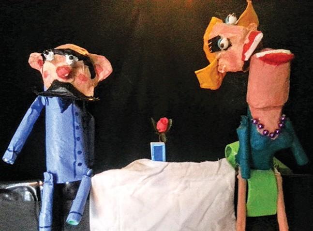 """Kirsten Ervin's """"Crumb"""" at Halloween Puppet Slam"""