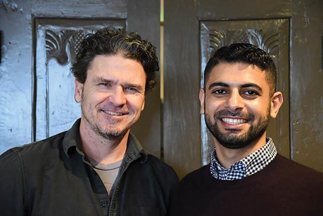 Dave Eggers and Mokhtar Alkhanshali