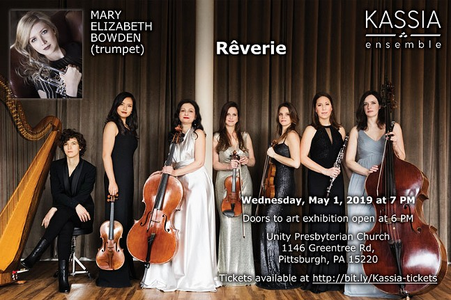 Rêverie: Kassia Ensemble in concert with trumpeter Mary Elizabeth Bowden