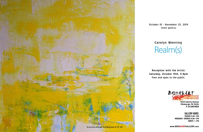 Carolyn Wenning @ BoxHeart Gallery