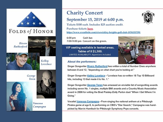 Folds of Honor Charity Concert