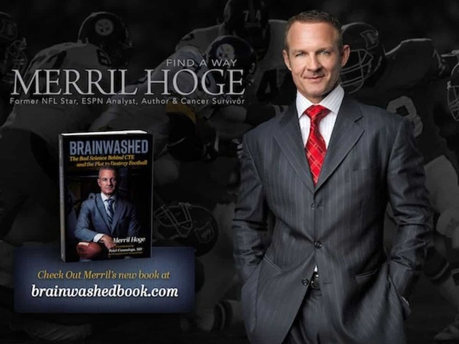 """Brainwashed: The Bad Science Behind CTE and the Plot to Destroy Football"" by Merril Hoge"