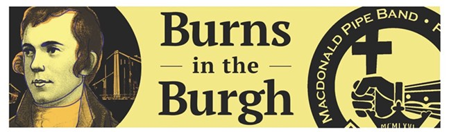Macdonald Pipe Band of Pittsburgh Burns in the 'Burgh