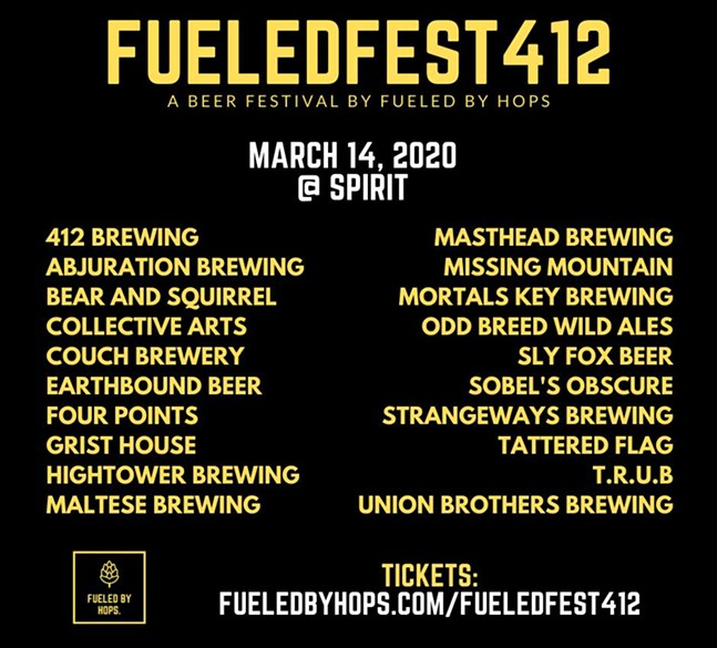 Fueled Fest 412 lineup