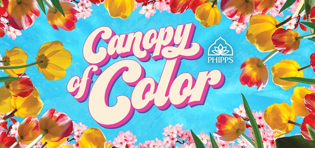 Spring Flower Show: Canopy ofColor