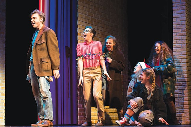 Point Park University's Conservatory Theatre Company's The Best Christmas Pageant Ever: The Musical
