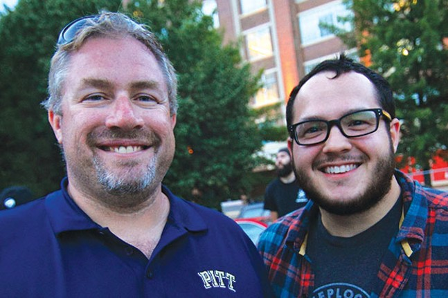 Brian Drusky (left) with Josh Bakaitus