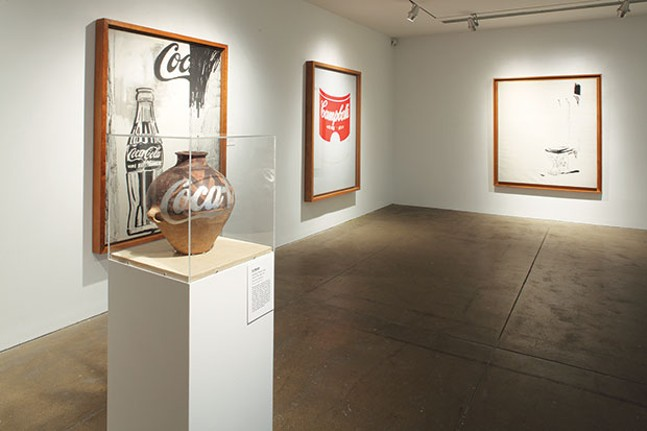 Installation view of Andy Warhol | Ai Weiwei at The Andy Warhol Museum