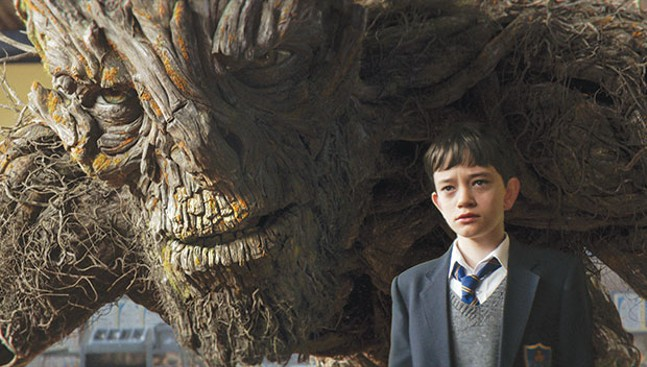 The tree and me: Lewis MacDougall