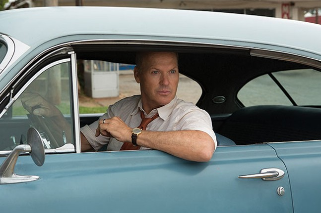 On the go: Ray Kroc (Michael Keaton)
