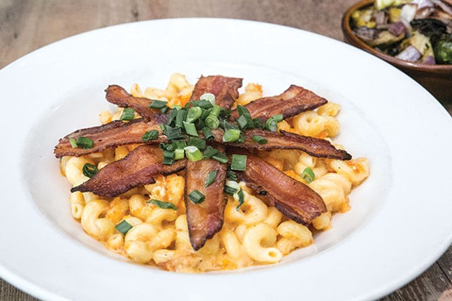 3 Rivers Mac & Cheese with bacon