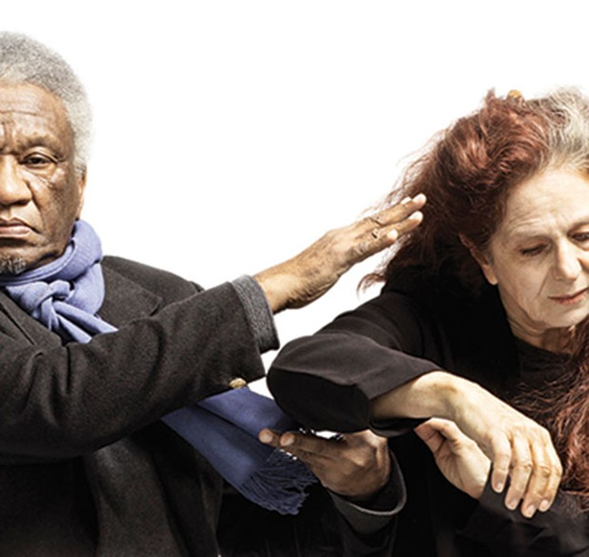 Beth Corning and Donald Byrd in WHAT'S MISSING?