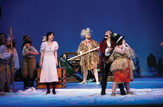Peter and the Starcatcher at Pitt Stages