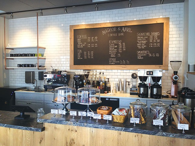 Anchor and Anvil's new Coraopolis location